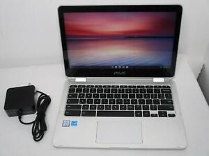 "Asus Chromebook C302C Flip 12.5"" TouchScreen M7-6Y75 1.2Ghz 16GB 64GB - read"