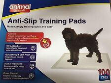 Animal Instincts Anti-Slip Dog Puppy House Training Pads 100 60x60cm
