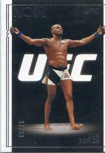"2021 PANINI UFC CHRONICLES NOIR JON ""BONES"" JONES #/99 NO. 313"