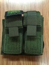 PANTAC  PH-C875-OD Dual .45 Dual PistolMag Pouch with Plastic insert in OD