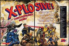 Marvel's X-MEN__Original 1992 Trade print AD / licensing promo ad__ToyBiz_Impel