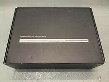 "Original Apple PowerBook G4 17"" Aluminum A1107 Box + Inserts + Install Discs"