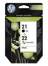 Schwarze Tintenstrahlpatronen für HP