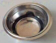 DELONGHI 2 CUPS FILTER DOSES DUST MACHINE COFFEE SCULTURA ECZ351 EC850 EC820