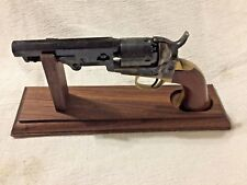 Solid Walnut Wood Pistol Display Stand for Colt Pocket Pistols BP