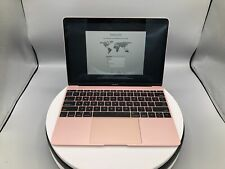 "MacBook 12"" 2017 | 256GB SSD | 8GB | 1.2GHZ | Rose Gold | Fair Condition"
