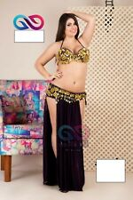 Egyptian BELLY DANCE handmade Embroidery Costume. Custom 2 pieces /67