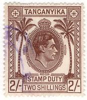 (I.B) KUT Revenue : Tanganyika Stamp Duty 2/-