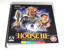 HOUSE 3 THE HORROR SHOW BLU-RAY ARROW VIDEO UK RELEASE REGION FREE NEW