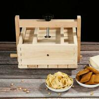 Wooden Tofu Press Mould Set DIY Homemade Cheese Tofu NEW Tool Soybean Mold V9Y1