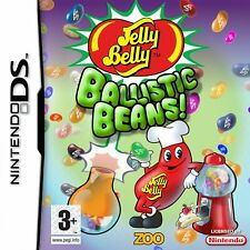 Jelly Belly: Ballistic Beans NDS 2DS Nintendo DS Video Game Original UK Release