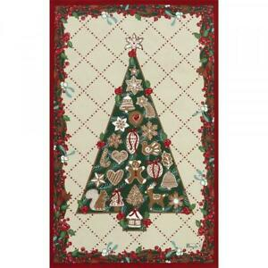 BEAUVILLE French Kitchen Dish Tea Towel Christmas Holiday Tree SAPIN GOURMAND
