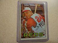 1967 TOPPS TONY PEREZ CINCINNATI REDS #476 SP