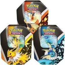More details for pokemon eevee evolutions fall v tins - set of 3 - new/sealed