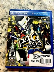 Persona 4 Golden (PS Vita  2012) - Free CDN Shipping...