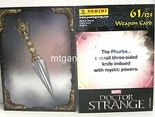 Doctor Strange Movie Trading Card - 1x #061 Weapon Card Foil - TCG