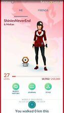 Pokemon Go Account Shiny Meltan ✨+ (12 Legendarys + 5 Shinys ✨)
