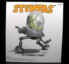 Stikfas G2 ALFA maschio con Robot CUPOLA Walker.. RARA!.. ACTION FIGURE NUOVO CON SCATOLA SET