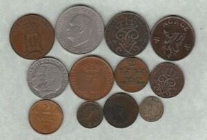 12 NORWAY & SWEDEN COINS 1876 TO 1979 IN GOOD FINE OR BETTER CONDITION.
