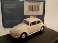 VW Beetle - White, Model Cars, Oxford Diecast