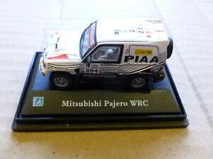 CLASSIC MITSUBISHI PAJERO WRC  DAKAR RALLY MODEL CAR