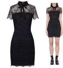Sandro Black Lace Rozen Dress Size 1
