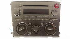 Original 2005-2006 Subaru Legacy Radio CD Klimabedientei 86201AG64A  CQ-JF1460LA