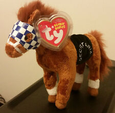 Ty Beanie Baby ~ SECRETARIAT the Horse (1973 Triple Crown Winner) ~ MINT TAGS