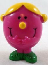 Mr. Men Little Miss HELPFUL PVC toy Lot Arbys cake topper set Figure R.H. Group