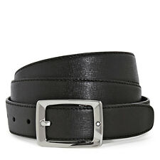 Montblanc Star Dark Brown Leather Belt 114429