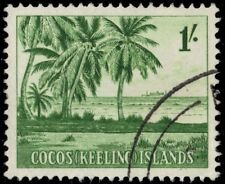 COCOS ISLANDS 4 (SG4) - Coco Palm Trees (pa53263)