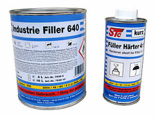 1,25 L Set Acryl Füller 4:1 grau Grundierfüller Rostschutz Grundierung