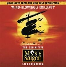 VARIOUS ARTISTS - MISS SAIGON - 25TH ANNIVERSARY HIGHLIGHTS NEW CD