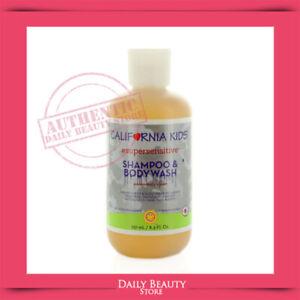 California Baby Kids Super Sensitive Shampoo & Bodywash 251ml 8.5oz NEW FAST SHI