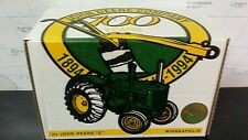 Ertl John Deere D 1/16 die cast metal farm tractor replica collectible / toy