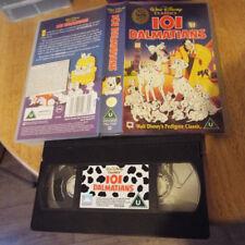 101 dalmations video tape vhs pal disney classic family film kids u rating