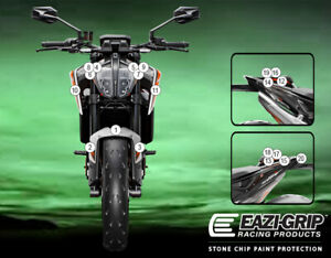 Motorcycle Stone Chip Protection PPF KTM 890 DUKE/R 2021+