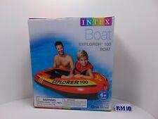 Intex Explorer 100 Inflatable 1 Person Raft Boat Pool Lake ................NEW