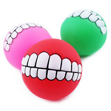 7.5 Diameter Teeth Pattern Ball Can Play With Family Pet Puppy Dog