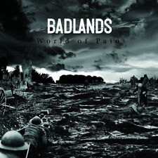 "Badlands - World Of Pain 7"" SOCIAL DISTORTION BISHOPS GREEN OXYMORON PERKELE"