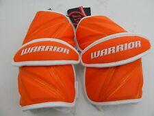 Warrior Regulator Orange Large Lacrosse Protective Regulator Arm Guards Pads