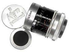 Kern 12.5mm f1.3 H8RX Macro-Switar C mount  #856966