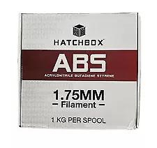 HATCHBOX ABS 3D Printer Filament, FREE SHIPPING