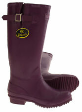 Womens Purple WETLANDS Festival Garden Wellies Wellington Boots UK Size 3 4