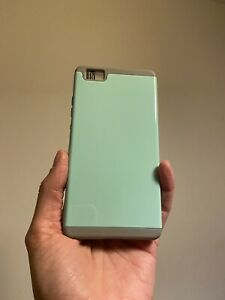 huawei p8 lite 2017 case + Screen Protector Mint Green NEW!