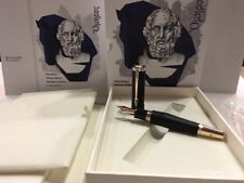 MONTBLANC 2018 WRITERS EDITION HOMER FOUNTAIN PEN (M) NIB #117876 - NEW IN BOX