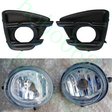 4Pcs For Mazda CX-5 2015-16 Car Front Fog Light Decoration Covers Trims NO BULBS