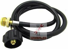 5FT Propane Adapter Hose Tank to Gas BBQ Grill Camp Stoves OutDoor Burner