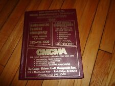 1986 Illinois Manufacturer's Directory Chicago