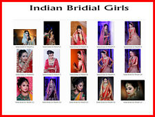 The Indian Bridal Girls  Photos many Poses & Sizes 4x6x8x10x11x14x16x20 inches